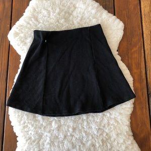 Zara Trafuluc Black Stretch Mini Skirt Size M - o7